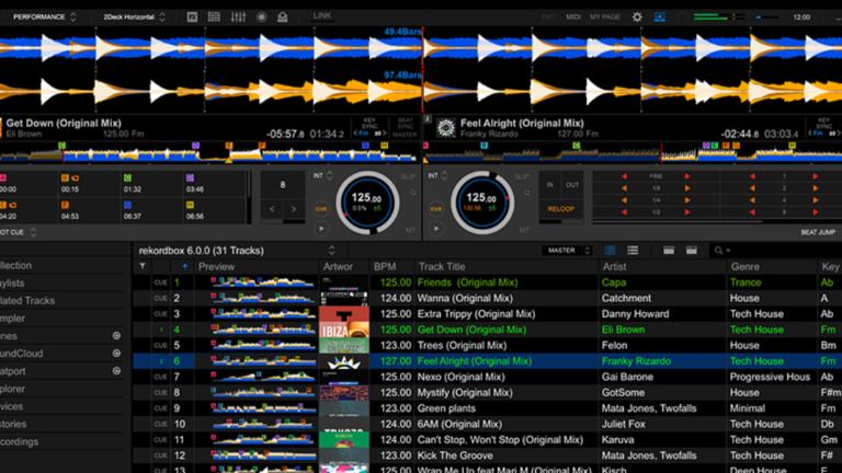 Pioneer DJ Rekordbox 6.0 Release