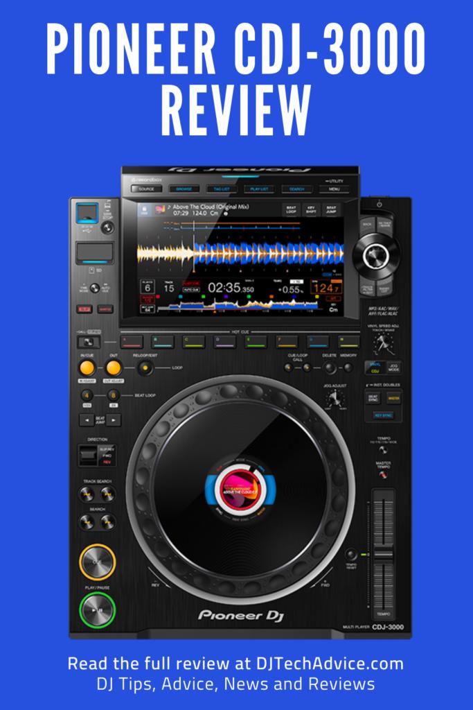 Pioneer CDJ-3000 Review Pin