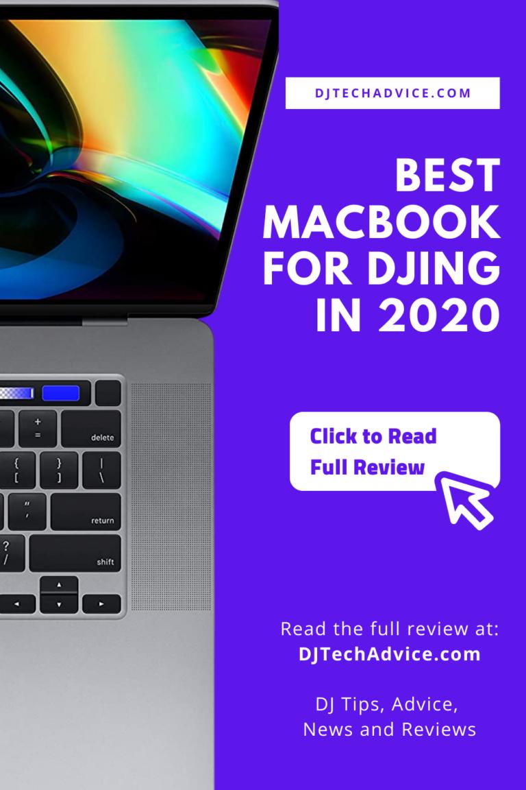 Best MacBook for DJing in 2020