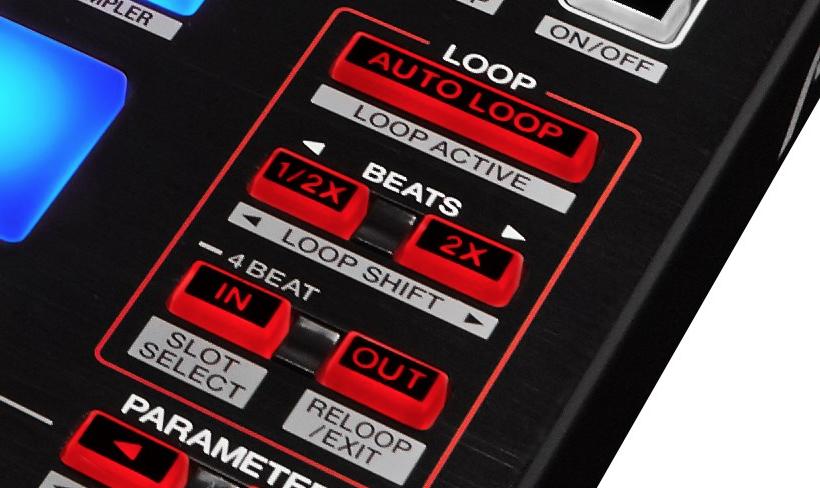 DJ Controller Loop Buttons