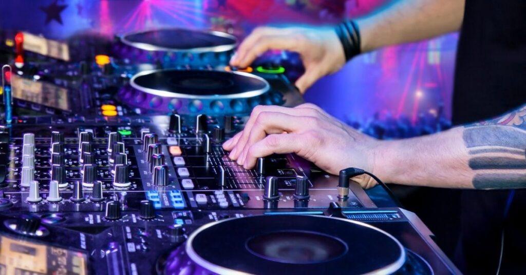 DJ faders