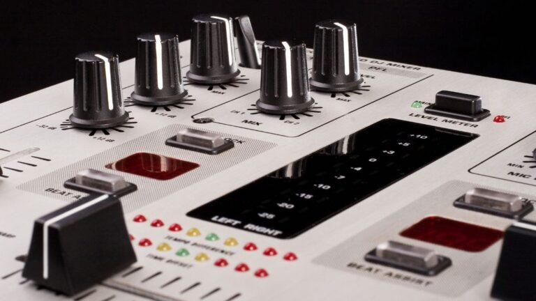 5 Best DJ Mixers